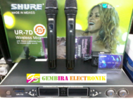 Mic SHURE UR7D Black Wireless Microphone