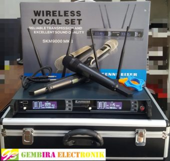 Mic Wireless Sennheiser SKM 9000 MK II (Multi Channel + Hardcase)