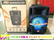 Speaker Portable Meeting Wireless JUC 10″ BLUETOOTH ORIGINAL RESMI