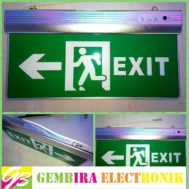 LED Sign Exit Emergency Hijau