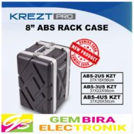 KREZT PRO 8″ ABS RACK CASE 3US / 3 US