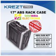 KREZT 17INCH ABS RACK CASE ABS-3UM KREZT