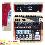 Mixer Profesional Black Spider SE6 – ME