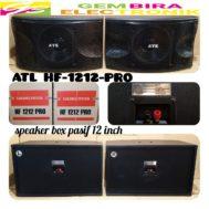 SPEAKER PASIF KARAOKE ATL 12 INCH 4x TWEETER ORIGINAL HF 1212 PRO