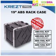 KREZT PRO 19″ ABS RACK CASE 6UL / 6 UL