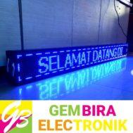 Running LED 197 x 21cm Biru