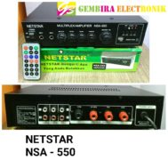 Amplifier Netstar NSA 550 Bluetooth