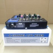 mixer audio ATL MM400 USB 4channel mixer atl mm 400 usb PROFESIONAL 4