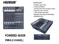 Power Mixer Hardwell PXR-6