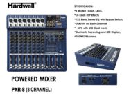 Power Mixer Hardwell PXR-8