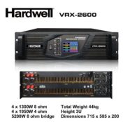 Power Badak 4 Channel Hardwell VRX 2600