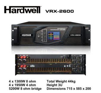 Power Badak 4 Channel Hardwell VRX 2600