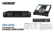 Power 4 Channel Hardwell VRX -2000