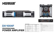 Power 4 Channel Hardwell DX -1004