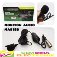 MIC KABEL KLIP ON MONITOR AUDIO MA818B MICROPHONE CONDENSER