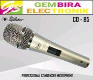 Microphone condenser Blackspider C0-85