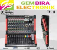 MIXER BLACK SPIDER TF8 MIXER BLACKSPIDER TF 8 CHANNEL