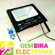 Lampu Tembak LED Solar Panel Set 50 Watt