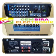 Stereo Mixing Amplifier BT 1800K