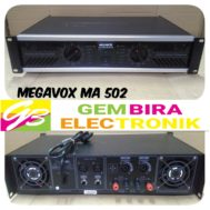 Power Amplifier MEGEVOX MA 502