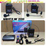 MICROPHONE WIRELESS NAKATA NK-3500
