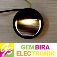 LED Dinding Bulat Outbo 3 Watt