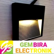 LED Dinding Kotak Outbo 3 Watt