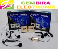 Mic Wireless Betavo BT-880 2Clip on + 2Headset