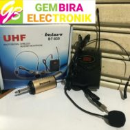 Mic Wireless BETAVO BT-839 Mic Bando Dan Jepit
