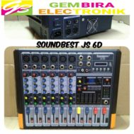 Power Mixer Soundbest JS 6D