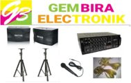 Paket Karaoke Bluetooth Bmb 10 Inxh Paketan Sound System Home.Theater Usb Sd Card