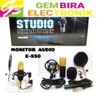 Mic Condenser Monitor Audio E-850 / E850 / E 850