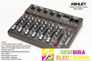 Mixer Ashley Better 7 Original 7 Channel USB Original Produk