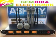 Mic Wireless Ashley M114 4Mic Original