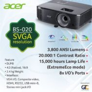 Acer BS-020 SVGA Resolution
