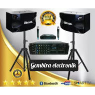 PAKET KARAOKE AMPLI BLUETOOTH WESTON ORIGINAL