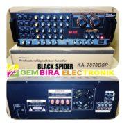 AMPLI BLACK SPIDER KA 7878DSP PROFESIONAL DIGITAL MIXER AMPLIFIER
