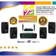 paket speaker Cafe BMB bergaransi resmi 3 tahun