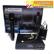 Mic wireless Hardwell Best-1 clip on + handle Best1 headset Microphone