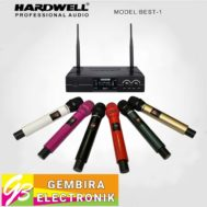 Mic wireless Hardwell Best-1 Handle Handheld Best1 Microphone