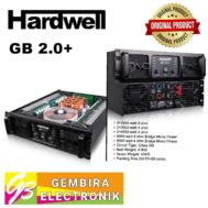 Power Hardwell GB 2.0+ Professional Amplifier