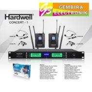 Mic Wireless Hardwell Concert 1 Clipon Microphone Concert1 Dual clip