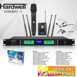Mic Wireless Hardwell Concert 1 Concert1 Clip on+Handheld Microphone