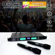 Mic Wireless Hardwell Concert 1 Dual Microphone Concert1 Handle