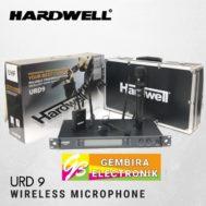Mic Wireless Hardwell URD 9 Clip URD9 Handle Clipon Headset Microphone