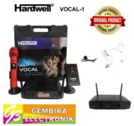 Mic Hardwell Vocal 1 Clip On Headset Wireless Microphone Vocal1