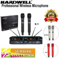 Mic Wireless Hardwell X1 Handheld Microphone X 1