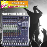 Mixer Audio Hardwell MR-8