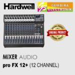 Mixer Audio Hardwell ProFX12+ 12 Channel PRO FX12
