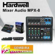 Mixer Hardwell MPX8 MPX 8 USB Audio